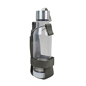 ALTTIMERY Outdoor Nylon Minimalist Tactical Molle Water Bottle Holder Kettle Pouch Belt Bottle Carrier (Green)