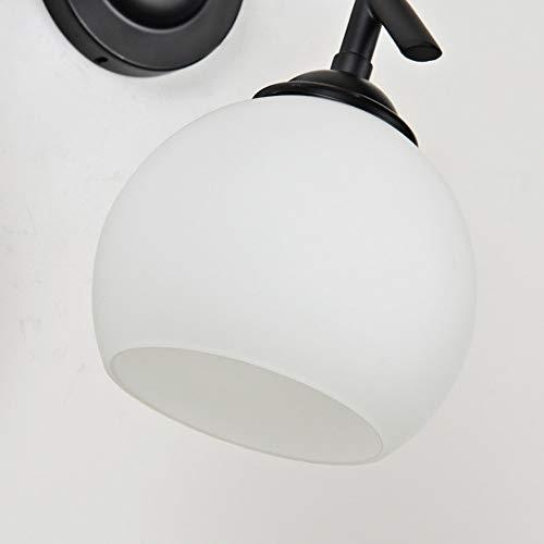 Amazon.com: Qyyru - Lámpara de pared con cabeza retro simple ...