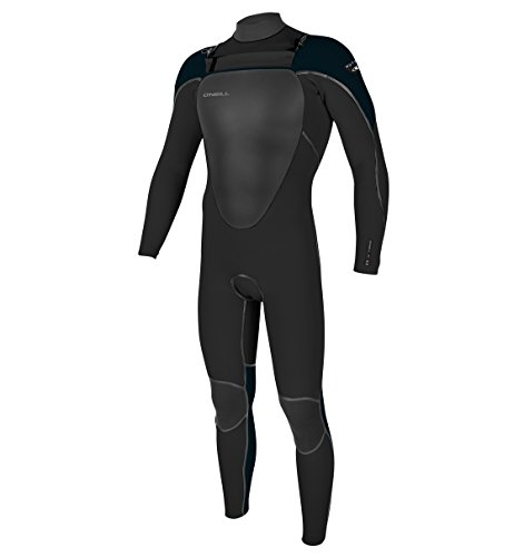 O'Neill Youth Mutant 5/4/3 mm Full Wetsuit with Hood, Black/Slate, 12