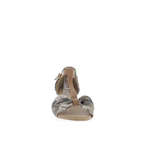 Talón de offset grande topo 5cm las mujeres zapatillas