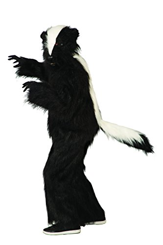 Forum 79307 Men's Deluxe Skunk Costume, Standard, Black, Pack of 1 -