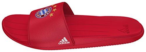 adidas Fcb Slide, Chanclas para Hombre Rojo (Rojfcb / Ftwbla / Rojfcb)