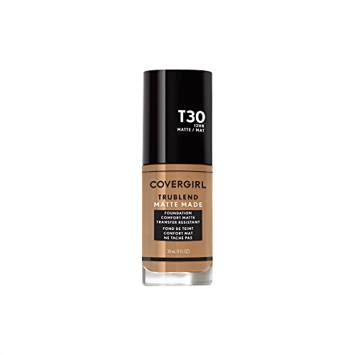 Covergirl Trublend Matte Made Liquid Foundation, T30 Warm Honey, 1.014 Ounce