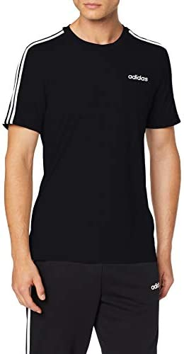 adidas – Essentials 3 Stripes T-Shirt, Maglietta Uomo