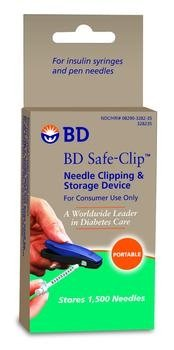 BD Safe-Clip Insulin Syringe Needle Clipper