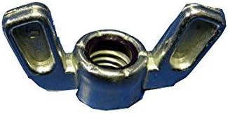 10-24X5//8X7//8 Washer Based Wing Nut Die Cast Zinc Alloy Box Qty 1,000 BC-1010NWA by Korpek