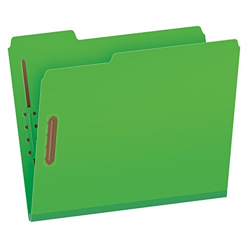 Globe-Weis Colored 2-Inch Exp Folders w/Fasteners (Globe-...