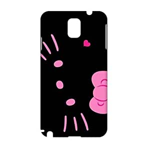 Angl 3D Case Cover Cartoon Hello Kitty Phone Case for Samsung Galaxy Note3