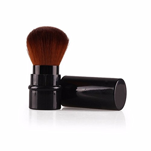 [New Design 1Pcs MIni Soft Makeup Brush Retractable Pro Foundation Cosmetic Blusher Face Powder Brushes Beauty] (Contour Designs Costumes)