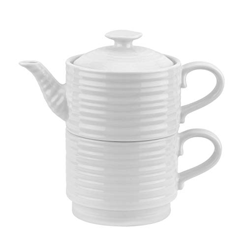 Portmeirion Sophie Conran White Tea for One