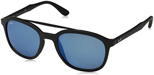 0rb4290 Ray Sol blue Para Negro Mirror Gafas Hombre De ban aCC5q