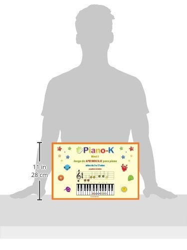 Amazon.com: Piano-K. Play the Self-Teaching Piano Game for Kids. Level 1 (SPANISH EDITION) (9780982311530): Victoria Mandly: Books