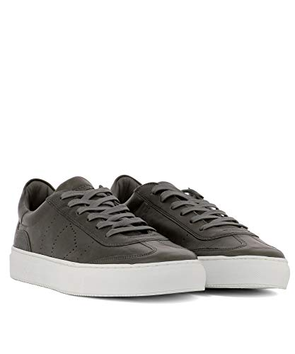 Gris Model Baskets Bvluww03 Cuir Homme Philippe Rtpqw4p