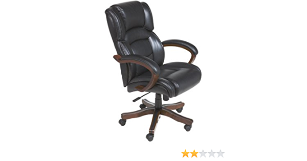 Amazon Com Broyhill Leather Executive High Back Chair Black Jewelry