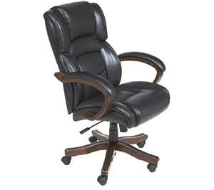 Amazon Com Broyhill Leather Executive High Back Chair