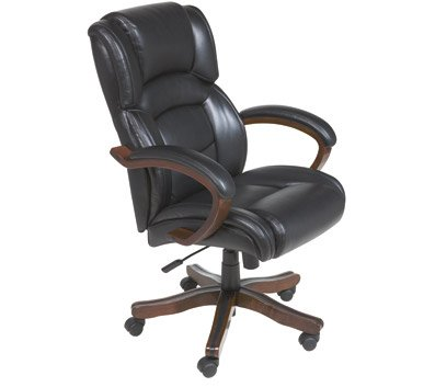 Peachy Amazon Com Broyhill Leather Executive High Back Chair Pdpeps Interior Chair Design Pdpepsorg