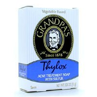 Grandpas Thylox Acne Treatment Soap with Sulfur 3.25 oz