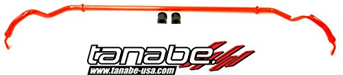 Rear Sustec Stabilizer Bars - Tanabe TSB036R Sustec 22mm Diameter Rear Sway Bar for 2000-2005 Toyota Celica ZZT231