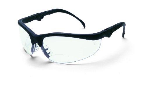 crews-k3h15-klondike-plus-magnifier-polycarbonate-dual-bi-focal-lens-glasses-with-black-frame-and-15