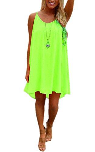 Sommerkleid grun knielang