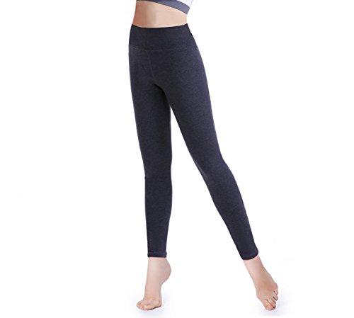 Tamlien Women High Waist Yoga Pants Tummy Control Running Pants Workout Leggings (X-Large)