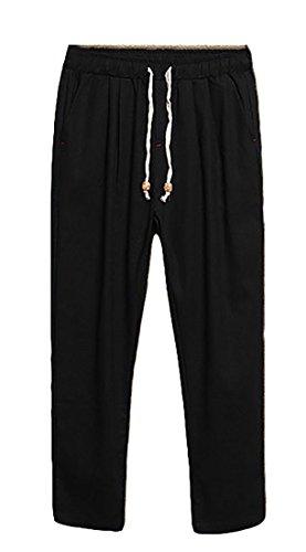 Linen Ankle Pants - 7