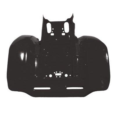 Maier Rear Fender Black for Honda TRX 250R FOURTRAX ()