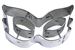"""R & M Mask Cookie Cutter - 4"""" - with Cutouts"""