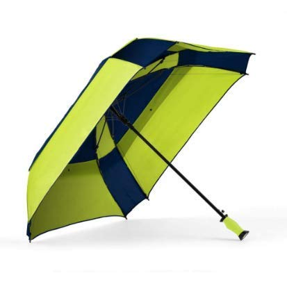 - ShedRain WindPro Vented Auto Open Square Golf Umbrella with Gellas Gel-Filled Handle