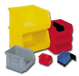 Akro Mils - Plastics, Akro Stacking Bins, H30-240, Inside Dim. L X W X H: 14 X 6-9/16 X 6-3/4