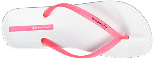 Ipanema Anatomica Soft, Chanclas Para Mujer Mehrfarbig (white/pink)