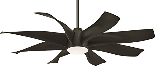 Minka-Aire F788L-WH Dream Star 60 Ceiling Fan with LED Light Remote Control, White