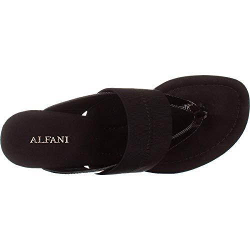 US Femme Sandales Frauen pour Alfani Noir nBWxFWq