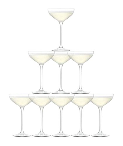LSA International Tower Champagne Set (10 Pack), 7.9