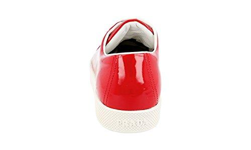 Prada Kvinners 3e6202 A33 F0011 Skinn Sneaker