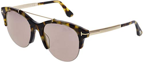 Sunglasses Tom Ford FT 0517 Adrenne 56Z havana/other / gradient or mirror violet