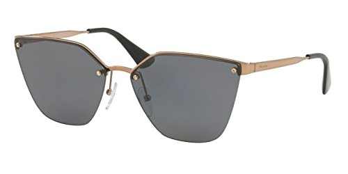 Prada PR68TS 7OE5Z1 Antique Gold PR68TS Cats Eyes Sunglasses Polarised Lens - Cat Eyes Prada