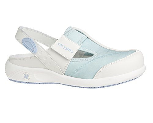 Oxypas Anais, Womens Safety Shoes, White (Lgn), 5 UK (38 EU) blanco - White (Lbl)