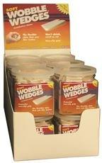 FOCUS 12 0030DSP FOCUS 12 WOBBLE WEDGES, HARD, NATURAL, 12 PACK COUNTER DISPLAY (30 PACKS)