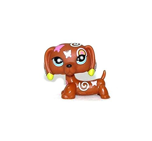 n Butterfly Swirl Dachshund Dog LPS Action Figure Toy XMAX GIFT 2