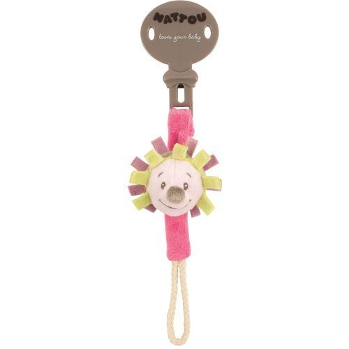 Amazon.com: Nattou Sujetachupetes Hedgehog Manon & Alize by Nattou ...