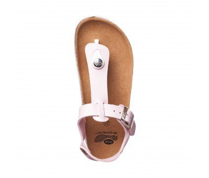 Scholl BOA VISTA B/S KID - Tongs - cuir synthétique - Rose - Fille