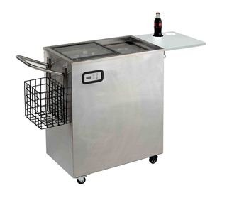 ORC2519SS Avanti 2.4 Cu. Ft. Outdoor Beverage Cart Stainless Steel