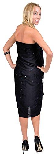 1 World para mujer Diseño con forma de pareos decorada de horóscopo in your con los colores del choice negro