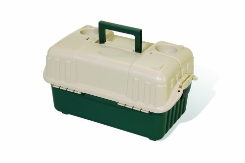 Plano Hip Roof Box 6-Tray Green/Sand 861600 by Plano