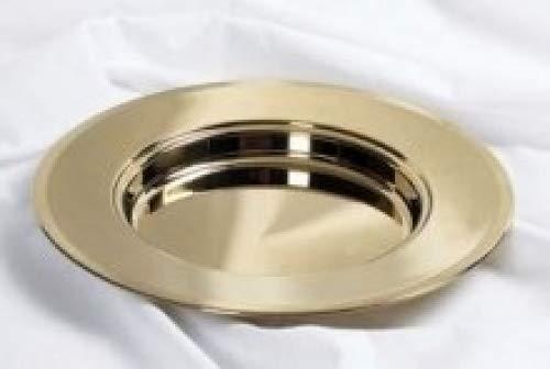 Bread Plate - Brass tone - Remembranceware