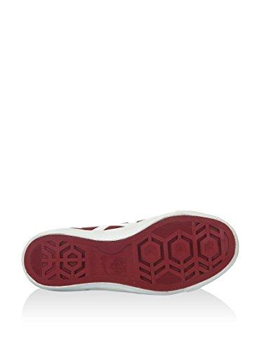 Sneaker us Onitsuka Fader Alta 5 Tiger 5 bianco 7 Eu 40 Rosso 55q4zw