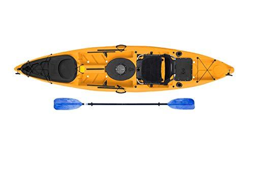 Malibu Kayaks Stealth-12 Fishing Kayak, Mango