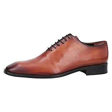 Konfidenz Brown Oxford & Wingtip For Men