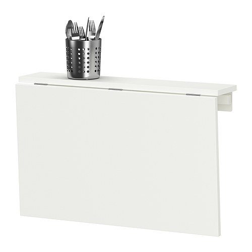 Klapptisch wand ikea  IKEA NORBERG Wandklapptisch, weiß: Amazon.de: Küche & Haushalt